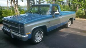 1981 And 1985 Very Clean Square Body Trucks