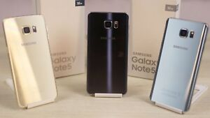 BRAND NEW BLACK/WHITE/GOLD SAMSUNG GALAXY NOTE 4/5 $259 UNLK