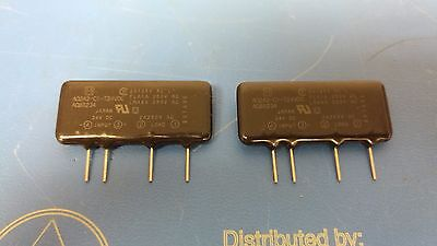 Lot Of 2 Pcs Panasonic Electric Works Aq2a2-c1-t24vdc Solid State Relay