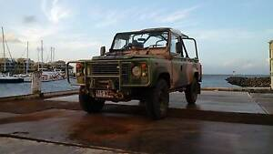Ex Army Land Rover Defender Perentie 110 Warwick Southern Downs Preview