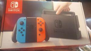Nintendo switch with 2 games