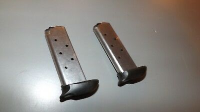 2 - NEW 7rd EXTENDED STS magazines mags clips for Sig P-238 - .380acp    (S148), used for sale  Albertville