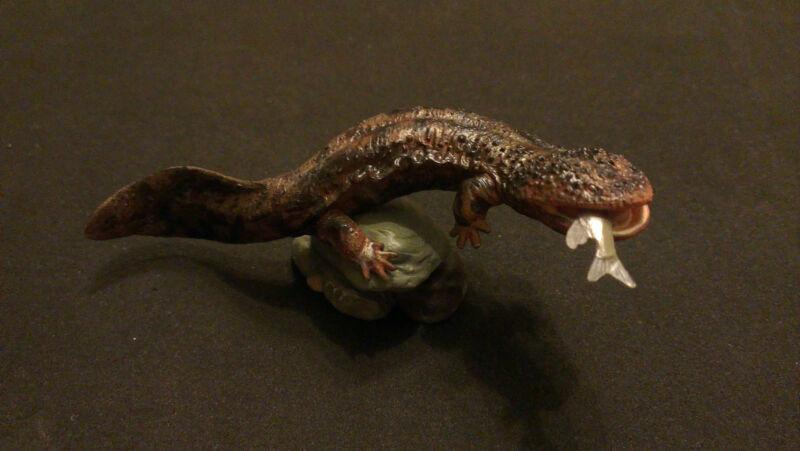 RARE Kaiyodo Natural Monuments Japanese Giant Salamander Figure