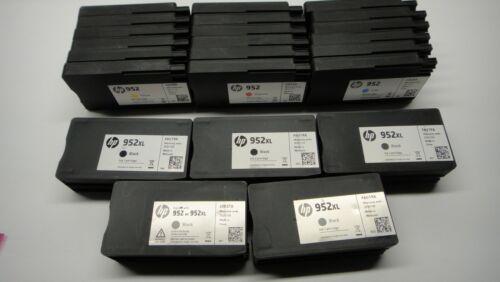 Empty Printer Ink Cartridges HP 952XL 952 Lot Of 5 Black / 6 Color