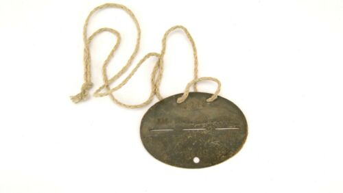 WW2 GERMAN ELIT SPECIAL FORCES CAVALRY DIVISION DOG TAG / ID TAG