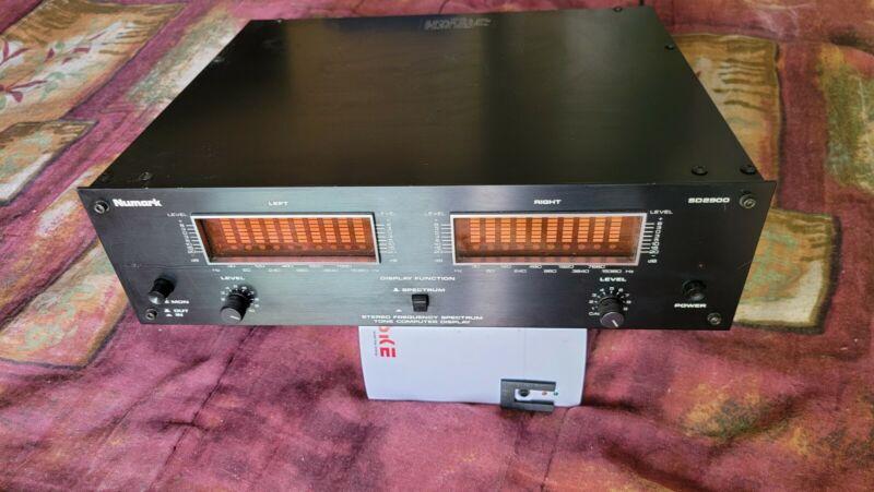 Numark SD2900 10 Band Spectrum Analyzer and VU-meter mode 3 color display