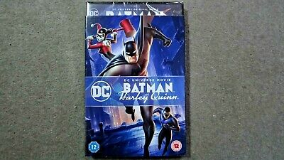 BATMAN AND HARLEY QUINN   BRAND NEW SEALED GENUINE UK DVD