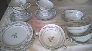 Noritake Glendon 5423 - cups and plates