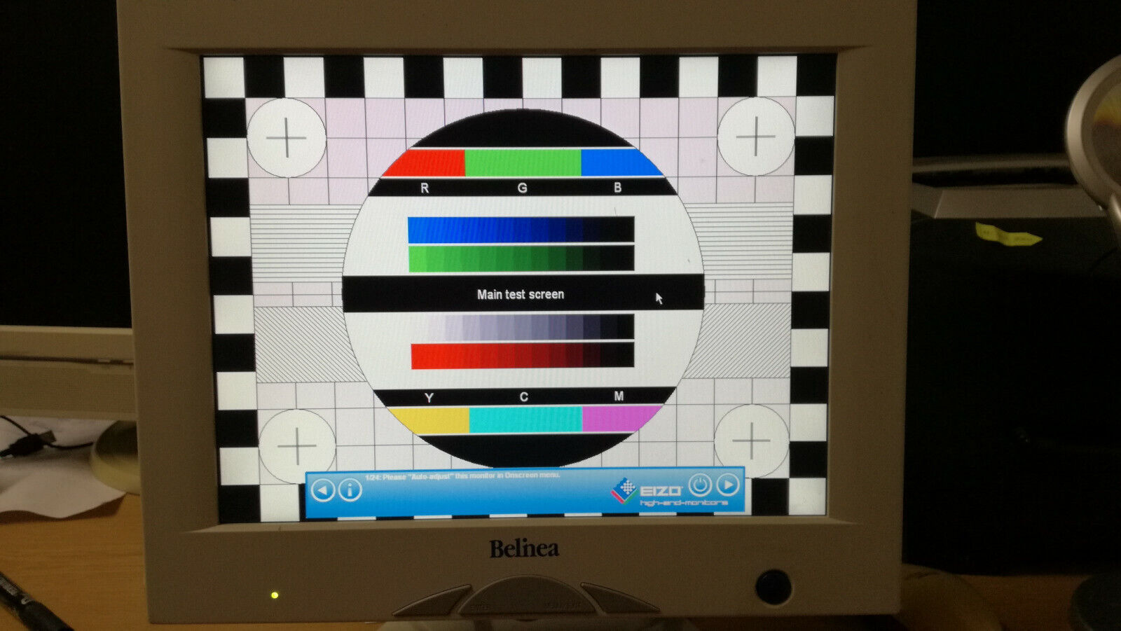 Maxdata Belinea 15-Zoll Monitor 10 15 45 VGA, Top in Ordnung