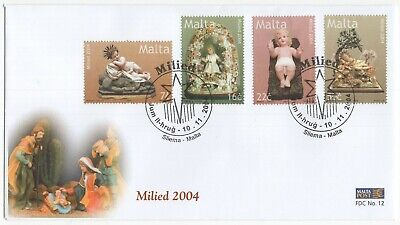 MALTA  2004  Christmas   Unaddressed First Day Cover  Ref:3587