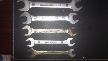 Spanners x5 Elora ( west germany)
