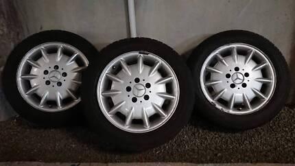 """Mercedes Benz E Class W210 16"""" alloy wheels Rhodes Canada Bay Area Preview"""