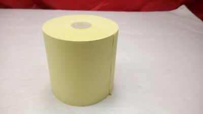 - 1 single Calculator ADDING MACHINE Yellow Paper Roll OFFICE 3