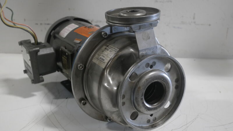 Goulds SST 1x2-6 Stainless Pump w/1HP Motor