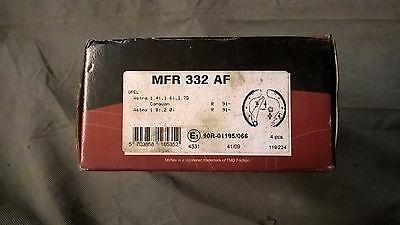 NEW MINTEX - REAR - BRAKE SHOE SET - MFR332 OPEL ASTRA 91-