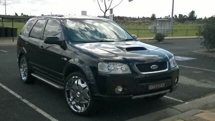 2007 Ford Territory Turbo GHIA Barden Ridge Sutherland Area Preview
