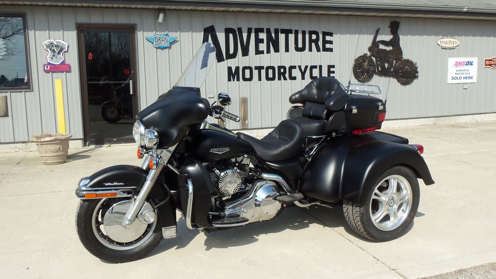 Adventure Motorcycle Weston
