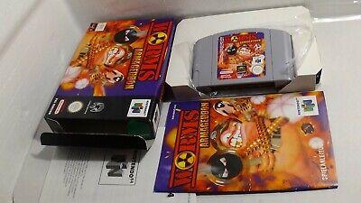 Worms Armageddon - Komplett/OVP Nintendo 64 N64