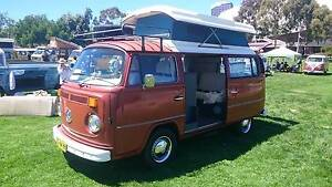 1976 VW Kombi Poptop Camper van, Bronco Brown, Rebuilt motor! Broadview Port Adelaide Area Preview