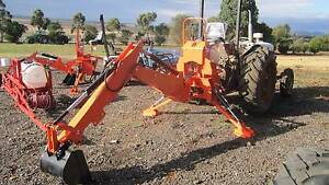 B8 backhoe for tractor Balliang East Moorabool Area Preview