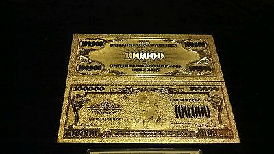 5-100 ~8Pc.LOT~SILVER BAR+24K GOLD-GERMAN MARK BANKNOTE REP.*SET.999 +COIN/&FLAKE