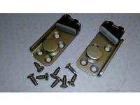 2006-13 FORD TRANSIT MK7 FRONT DRIVER//PASSENGER DOOR  LOCK CATCH STRIKER PLATE