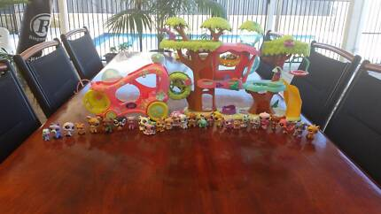 Pet Shop Toys and Treehouse and Car