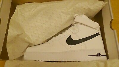 NIKE AIR FORCE 1 HIGH - WHITE/BLACK - CK4369 100 - UK11/EUR46/US12...