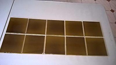 10 Antique  Tiles.   .stock item tiles Z00151