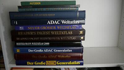 Atlas / Atlanten / Weltatlanten - Sammlung PA 6
