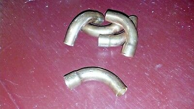 Copper Elbow For 38 O.d. Tubing Long Radius Street Elbow