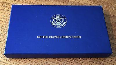 1986-S Statue of Liberty 2 piece Uncirculated Set - Half, Silver Dollar #B
