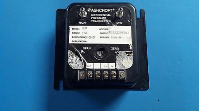 Ashcroft Xldp Differential Pressure Transmitter