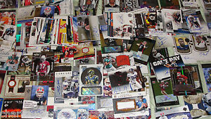 Football Hot Pack Game Used Auto Refractor Star Rookie Card Lot Guaranteed Hit