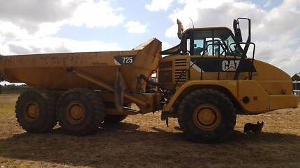 HIRE Cat 725 Articulating Dump Truck Mackay Mackay City Preview