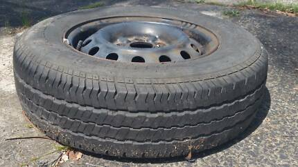 14 inch Tyres (6 and 5 Stud) with Rim and Great Tread -