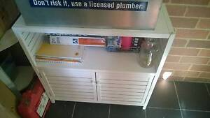 Small solid wood modern cabinet, FREE Lilyfield Leichhardt Area Preview