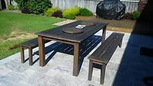 LARGE 3 PIECE OUTDOOR BENCH SETTING Hornsby Heights Hornsby Area Preview