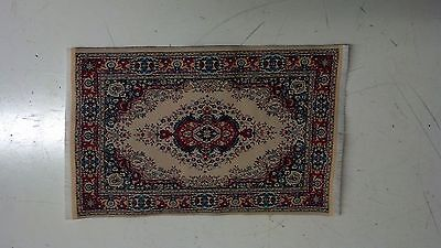 Used, Miniatures Dollhouse Carpet Furniture Doll House Rug Oriental Rug  L for sale  Newcastle