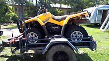 can am 800 quad bike and trailer package Parramatta Park Cairns City Preview