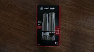 Russel Hobbs Electronic Salt & Pepper Mills BRAND NEW Barden Ridge Sutherland Area Preview