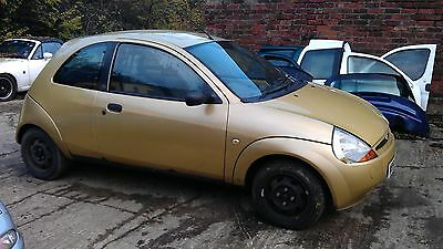 FORD KA 13 door speaker BREAKING ALL PARTS AVAILABLE 1996 2008 1in gold 1 red