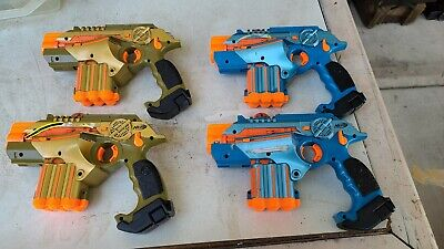 Nerf Official: Lazer Tag Phoenix LTX Tagger 4-pack - Family Fun Laser Tag