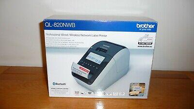 Brand New Brother QL-820NWB Label Printer