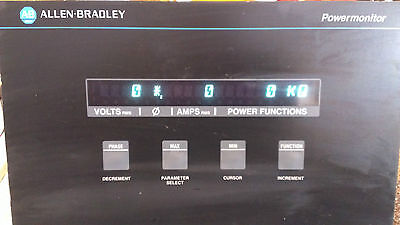 Allen Bradley 1400-pd51a Power Monitor Serie A Fw 1.2 Communication Mod 1400-dcu