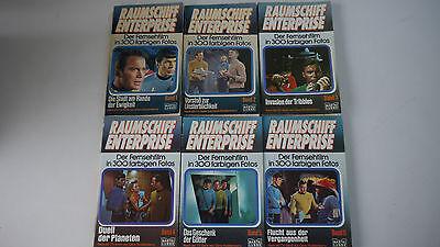 Raumschiff Enterprise - Der Fernsehfilm in 300 farbigen Fotos Band 1-6