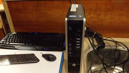 HP elitedesk 8200 mini desktop pc-corei5-8g ram-win 10+ office