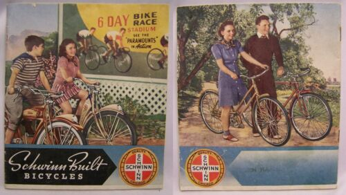 Nice SCHWINN BUILT BICYCLES Color Catalog from 1940
