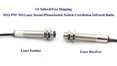 Us M12 Pnp No Laser Sensorphotoelectric Switch Correlation Infrared Radio