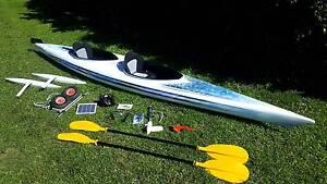 Rosco Custom fibreglass Tandem/2 seat Kayak, with outriggers Dundowran Fraser Coast Preview